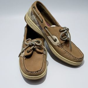 Sperry Topsider Plaid Boat Shoe